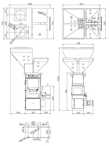 Gravimetric Batch Blenders